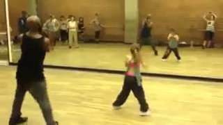 Check Out These Awesome Moves - 10 Year Old Girl Has The Moves