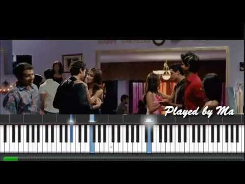 Kahin Toh Hogi Woh - Jaane Tu Ya Jaane Na - Piano Instrumental...
