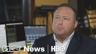 """Alex Jones Says Trump Is Just The Start: """"Bigger waves are coming"""" (HBO)"""