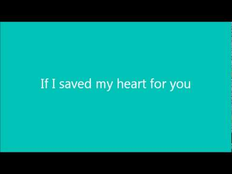 Carrie Underwood - If I Saved My Heart For You with Lyrics Music Videos