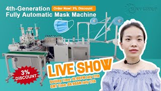 """Mask Making Machine"" Live Show."