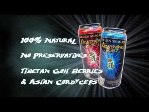 Steven Seagal Lightning Bolt Energy Drink Advert 1