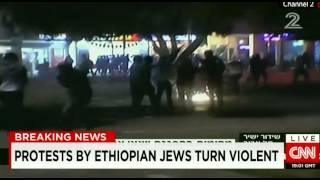 Ethiopian-Israelis Protest Over Police Brutality and Racism