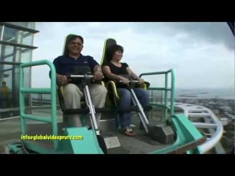 EXTREME EDGE COASTER RIDE & SKYWALK. CROWN REGENCY, CEBU. PHILIPPINES