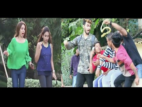 Fake SNAKE scare Prank | Pranks in India | Indian pranks