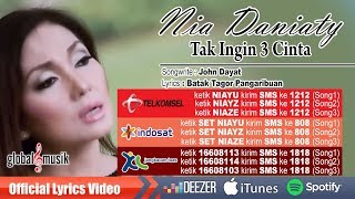 Nia Daniaty - Tak Ingin 3 Cinta (Official Music Video)