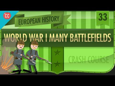 World War I Battlefields Crash Course European History 33