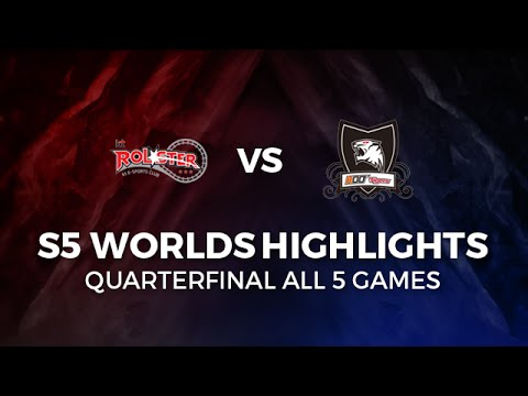 KT vs KOO Highlights All games Quarter-Final | KT ROLSTER vs KOO TIGERS 2015 LoL World Championship