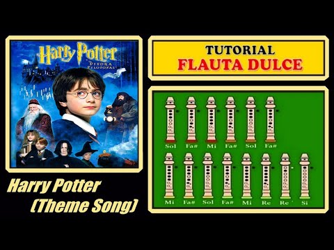 Harry Potter Theme en Flauta