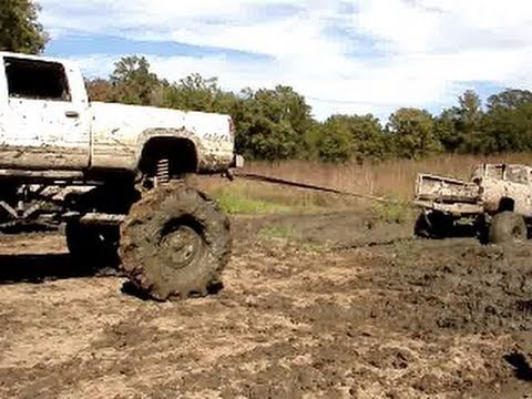 How NOT to go Mudding in a MUD TRUCK!! STUCK BIG TIME!