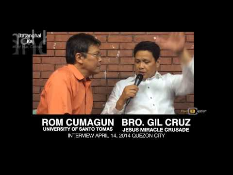 Bro. Gil Cruz Jmcim Jesus Miracle Crusade With Rom Cumagun video