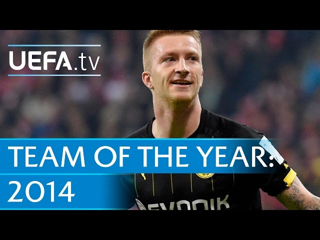 Marco Reus: 2014 Team of the Year nominee