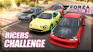 Forza Horizon 3 - Rice Cars Challenge! (Build & Showdown)