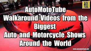 Six Walkaround videos daily, from the Biggest Auto and Moto shows in the world