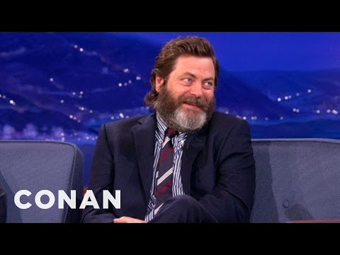 Nick Offerman s Awesome Romance Tips