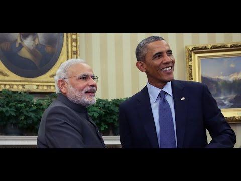 PM Narendra Modi & US President Barack Obama Joint presser