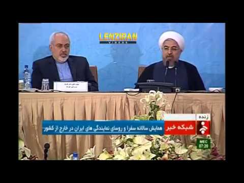 Hassan Rohani attack his opponents and tell them : Go to hell !