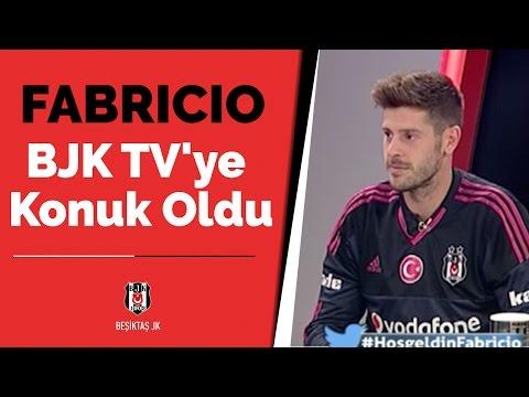 Yeni Transferimiz Fabricio Agosto Ramirez BJK TV'ye Konuk Oldu