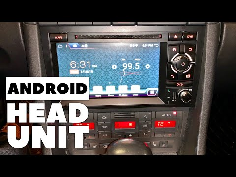 Android Car Stereo Upgrade for Audi A4 B7 Installation and Review