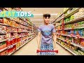 Ken Supermarket Grocery Shopping For Barbie Doll Morning Routine W/ Pink Car Toy