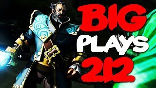 Dota 2 - Big Plays Moments - Ep. 212 (+ V.I.P. Appearance by !Attacker)