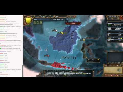 Livestream Europa Universalis IV Brunei to Malaysia 01 (Let's Play/Deutsch)