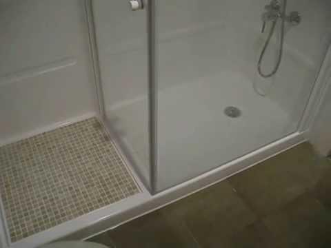 003 antidex cambia tu ba era por una ducha youtube for Como cambiar una banera