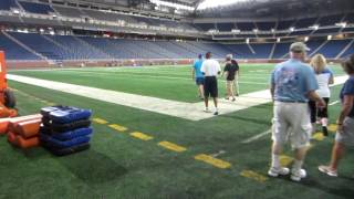 NFL STADIUM TOUR - An EXCLUSIVE look inside FORD FIELD - Detroit Lions