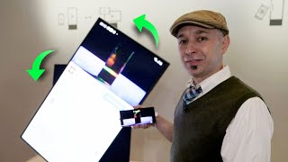 Samsung's SPINNING Sero TV: hands-on