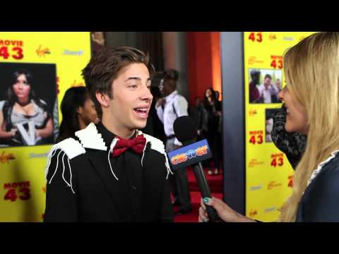 Jimmy Bennett Movie 43 Interview