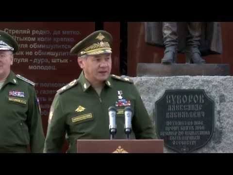 День знаний в Московском суворовском военном училище
