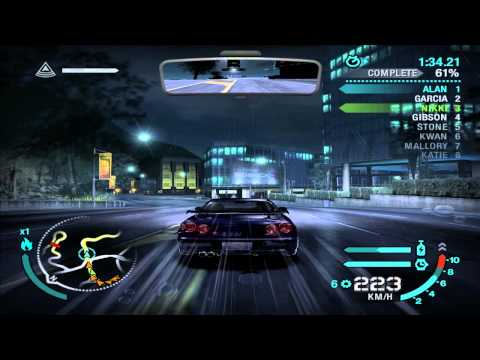 Need For Speed: Carbon - Defensive Race #17 - Chinatown Tram (Sprint)