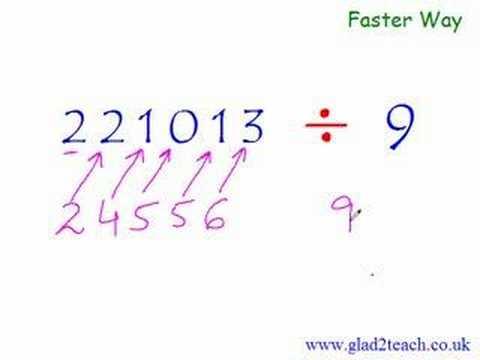 Division New Math Secret Trick Math Division