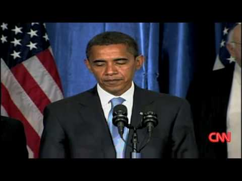 Obama wants stimulus package [First press conference]