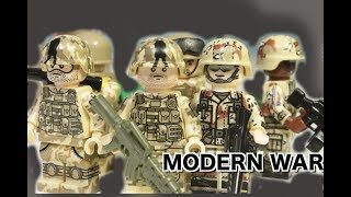 LEGO MODERN WARFARE FILM - part 4 (Long road home)