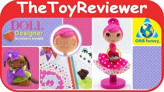 Doll Designer Strawberry Sweetie Orb Factory Mix Match Dog Unboxing Toy Review by TheToyReviewer