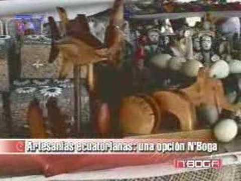 Artesanías ecuatorianas, una opción N'Boga