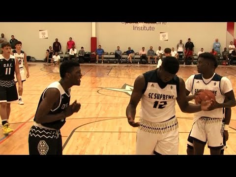Zion Williamson Gets Challenged! OT Thriller vs. OBC (Adidas Finals)
