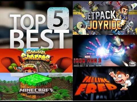 Top 5 Android Games (Free) [Greek] - on Samsung Galaxy TAB 2 7.0