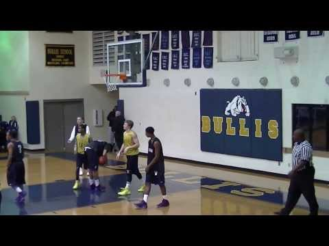 "Austin Brown 6' 5"" Combo G/F Class of 2014 The Bullis School Highlights"