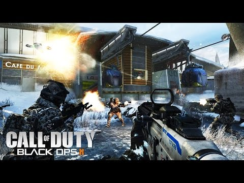 Call Of Duty Black Ops 2 Shotguns & Snipers | BO2 Multiplayer Domination, Party Games