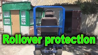 Rollover protection for tractor