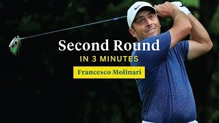 Francesco Molinari's Second Round in Three Minutes