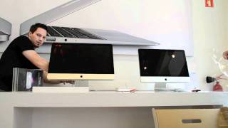 iMac 2011 unboxing