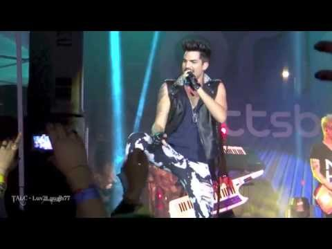HD Adam Lambert - If I Had You, Naked Love, Cuckoo - Pittsburgh Pride 2013