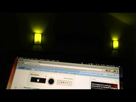 Philips Hue visualizer for thebutton