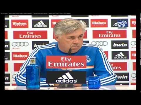 Conferencia de prensa de Carlo Ancelotti previa al partido ante el Atlético de Madrid