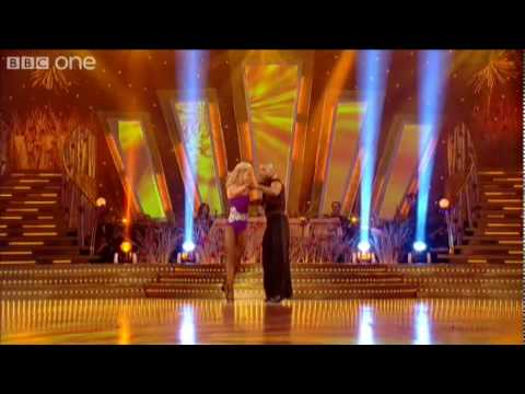 "http://www.bbc.co.uk/strictly Ricky Whittle and his dance partner Natalie Lowe perform a Showdance to ""Last Dance"" by Donna Summer."