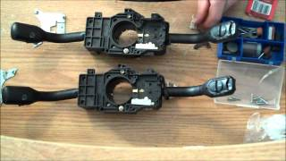 Audi A4 A6 Headlight Switch FIX ~ (& Blinker Light & Wiper Switch)
