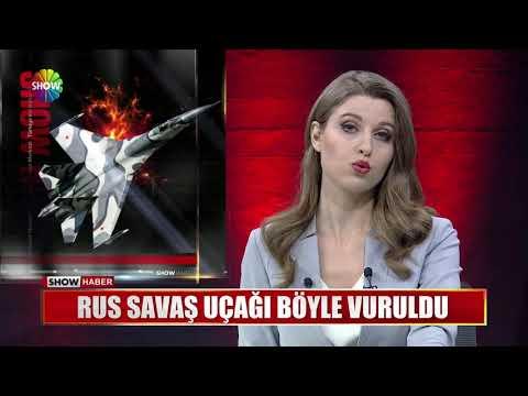 Rus savaş uçağı böyle vuruldu